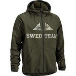 Pullover Veil Full-Zip Hood M SWEDTEAM